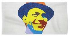 Frank Sinatra Smile Beach Sheet
