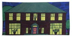 Frank Spies Home. Historical Menominee Art. Beach Towel by Jonathon Hansen