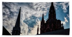 Frankfurt Cathedral Beach Towel