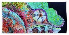 Freckle Face Beach Towel by Polly Castor
