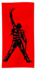 Freddy Krueger Beach Towel