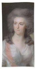 Frederika Sophia Wilhelmina Wilhelmina, 1751-1820, Princess Of Prussia. Wife Of Prince William V,  Beach Towel