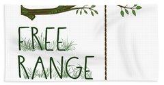 Free Range Kid Beach Towel
