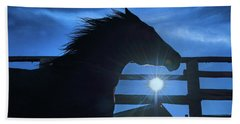 Free Spirit Horse Beach Towel