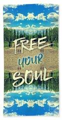 Free Your Soul Trianon Chateau Garden Versailles Paris Beach Sheet