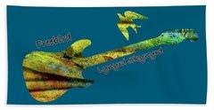 Freebird Lynyrd Skynyrd Ronnie Van Zant Beach Towel