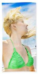 Freedom Of The Ocean Beach Towel