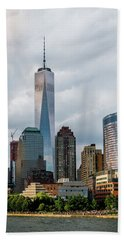 Freedom Tower - Lower Manhattan 1 Beach Sheet