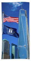 Freedom Tower Beach Sheet