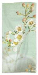 Freesia Blossom Beach Towel by Lyn Randle
