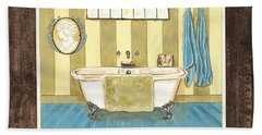 French Bath 2 Beach Towel