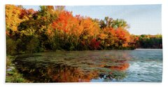 French Creek 15-025 Beach Towel by Scott McAllister