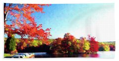 French Creek Fall 020 Beach Towel
