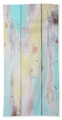 French Door In California With Colors Beach Sheet by Asha Carolyn Young