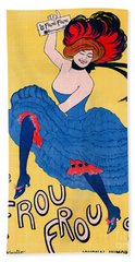 French Journal Ad 1899 Beach Towel