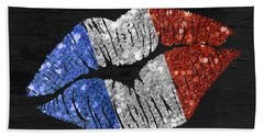 French Kiss Beach Towel