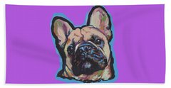 French Me Up Beach Towel