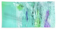 Beach Towel featuring the digital art French Still Life - 14b by Variance Collections