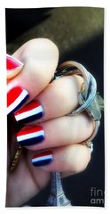 Frenchy Nails Beach Towel