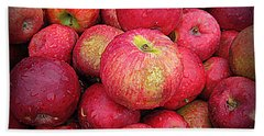 Fresh Apples Beach Sheet