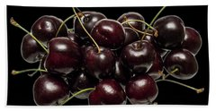 Fresh Cherries Beach Towel