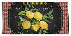 Fresh Fruit-jp3740 Beach Towel