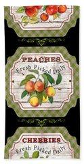 Fresh Fruit Trio--jp3757 Beach Towel