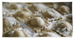 Fresh Homemade Italian Pasta  Beach Sheet