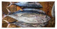 Fresh Tuna Beach Towel