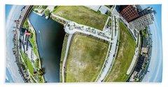 Beach Sheet featuring the photograph Freshwater Way Little Planet by Randy Scherkenbach