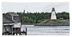 Friar's Head Lighthouse Beach Towel