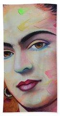 Frida Kahlo Beach Sheet