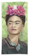 Frida Kahlo Beach Sheet