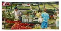 Friday Farm Market Beach Sheet
