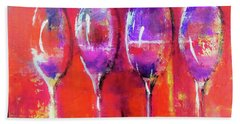 Friendly Get Together By Lisa Kaiser Beach Towel