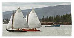 Friendly Sail Beach Towel