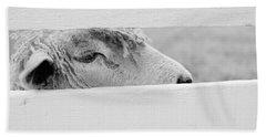 Friendly Sheep Beach Towel