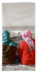 Friends, Morocco Beach Sheet by Susan Lafleur