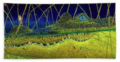 Swamp Gathering Beach Sheet by David Joyner