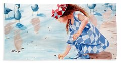 Friends - Prints From Original Oil Painting Beach Towel