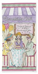 Friendship Cafe Beach Towel