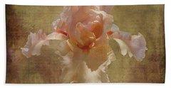Frilly Iris Beach Towel