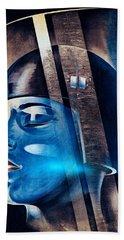 Fritz Langs Metropolis Movie Poster 1926 Beach Sheet