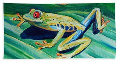 Frog Beach Towel