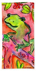 Froggy Beach Towel