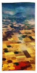 From Above Beach Towel by Michelle Calkins