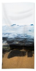 Beach Towel featuring the photograph From Dark To Light by Parker Cunningham