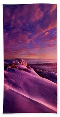 Beach Towel featuring the photograph From Inside The Heart Of Each by Phil Koch