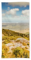 From Mountains To Seas Beach Towel