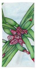 From My Garden 3 Beach Sheet by Versel Reid